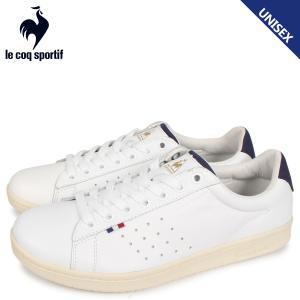 le coq sportif ルコック スポルティフ LA ローラン スニーカー メンズ レディース LA ROLAND LE+2 ホワイト 白 QL1NJC06WN [3/28 新入荷]|sugaronlineshop