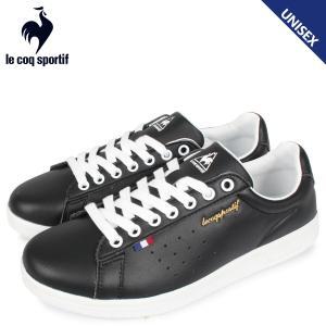 le coq sportif ルコック スポルティフ スニーカー メンズ レディース LA ローラン LA ROLAND LE ブラック 黒 QL1PJC18BK [3/28 追加入荷]|sugaronlineshop