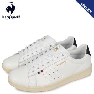 le coq sportif ルコック スポルティフ スニーカー メンズ レディース LA ローラン LA ROLAND LE ホワイト 白 QL1PJC18WB [3/28 追加入荷]|sugaronlineshop