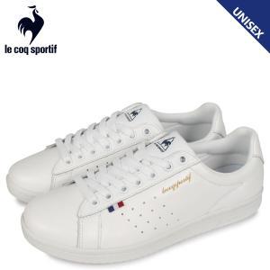 le coq sportif ルコック スポルティフ スニーカー メンズ レディース LA ローラン LA ROLAND LE ホワイト 白 QL1PJC18WH [3/28 追加入荷]|sugaronlineshop