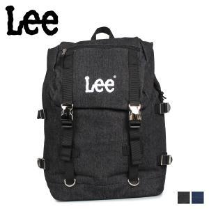 Lee リー リュック バッグ バックパック メンズ レディース DENIM METAL D BACKPACK ブラック ネイビー 黒 0420906 [11/5 新入荷]