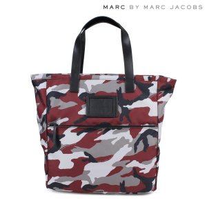 MARC BY MARC JACOBS マークバイマークジェイコブス トートバッグ バッグ レディース M0003918 CAMO NYLON TOTE ワインレッド|sugaronlineshop