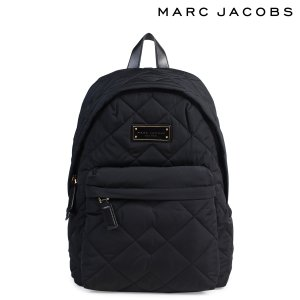 MARC JACOBS マークジェイコブス バッグ リュック バックパック M0011321 QUILTED BACKPACK レディース ブラック 9/7 再入荷|sugaronlineshop