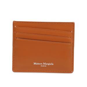 MAISON MARGIELA メゾンマルジェラ カードケース 名刺入れ 定期入れ メンズ レディース レザー CARD CASE S35UI0432 P2714 10/8 新入荷|sugaronlineshop