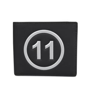 MAISON MARGIELA メゾンマルジェラ 財布 ミニ財布 二つ折り メンズ レディース BI-FOLD WALLET レザー ブラック 黒 S35UI0435 P0047 10/8 新入荷|sugaronlineshop