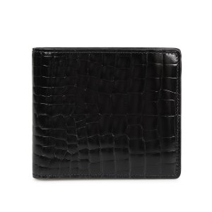 MAISON MARGIELA メゾンマルジェラ 財布 ミニ財布 二つ折り メンズ レディース MINI WALLET レザー ブラック 黒 S35UI0435 P0195 10/8 新入荷|sugaronlineshop