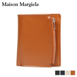 MAISON MARGIELA メゾンマルジェラ 財布 二つ折り メンズ レディース BI-FOLD WALLET ブラック ネイビー ベージュ ブラウン 黒 35UI0437 11/6 新入荷|sugaronlineshop