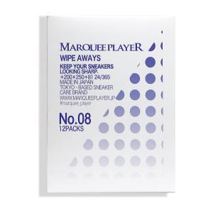 MARQUEE PLAYER マーキープレイヤー シューケア スニーカークリーナー シューズケア用品 拭き取りタイプ 12パック入り ネコポス可 sugaronlineshop