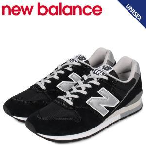 ニューバランス new balance 996 スニーカー メンズ レディース Dワイズ ブラック 黒 CM996BP [10/21 追加入荷]