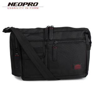 NEOPRO ネオプロ ショルダーバッグ メンズ RED ブラック 黒 2-022|sugaronlineshop
