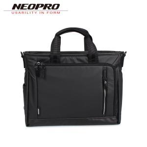 NEOPRO ネオプロ ビジネスバッグ ブリーフケース ショルダーバッグ 2WAY メンズ COMMUTE LIGHT ブラック 黒 2-760|sugaronlineshop