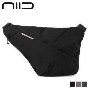 URBANATURE アーバネイチャー バック ショルダーバッグ メンズ URBANATURE by NIID ブラック グレー チャコールグレー 黒 UN D1 CHEST|sugaronlineshop