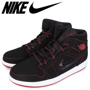 NIKE ナイキ エアジョーダン1 スニーカー メンズ   AIR JORDAN 1 MID FEARLESS COME FLY WITH ME ブラック 黒 CK5665-062 [3/9 新入荷]|sugaronlineshop