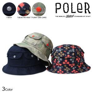 ポーラー ハット POLER バケットハット 帽子 POCKET BUCKET 635051 メンズ レディース sugaronlineshop