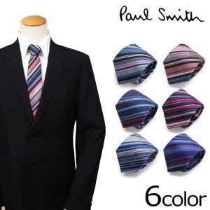 ポールスミス Paul Smith ネクタイ メンズ シルク イタリア製 ビジネス 結婚式 [予約商品 10/31頃入荷予定 追加入荷]