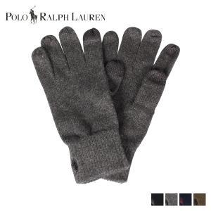 POLO RALPH LAUREN ポロ ラルフローレン 手袋 グローブ メンズ GLOVES ブラック チャコール ネイビー オリーブ 黒 PC0493|sugaronlineshop