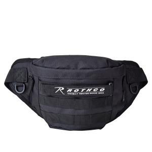 ROTHCO ロスコ バッグ ウエストバッグ ボディバッグ ショルダー メンズ レディース P600 SERIES 迷彩柄 ブラック ブラウン 黒 45000|sugaronlineshop