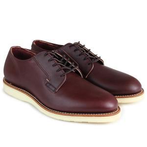 RED WING レッドウィング ブーツ ポストマン POSTMAN OXFORD Dワイズ 3117 レッドウイング メンズ ブラウン|sugaronlineshop