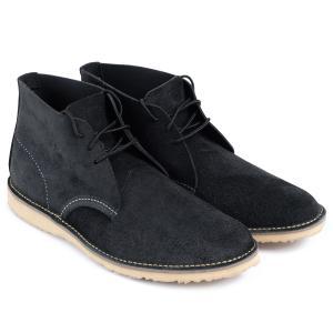 RED WING レッドウィング ブーツ チャッカブーツ メンズ WEEKENDER CHUKKA Dワイズ ブラック 黒 3323 9/10 追加入荷|sugaronlineshop