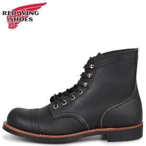 RED WING レッドウィング アイアン レンジ 6インチ ブーツ メンズ Dワイズ アイアンレンジャー 6INCH IRON RANGER ブラック 黒|sugaronlineshop