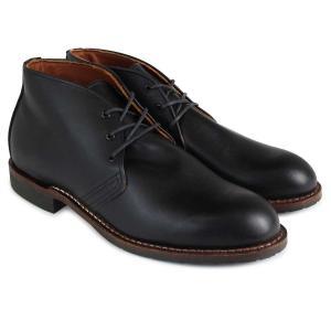 RED WING レッドウィング ベックマン ブーツ BECKMAN CHUKKA 9049 レッドウイング メンズ ブラック|sugaronlineshop