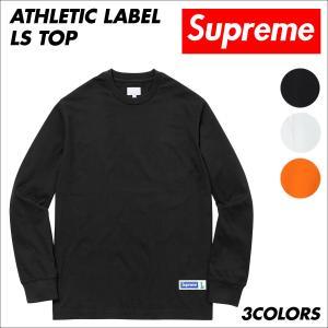 シュプリーム Supreme Tシャツ メンズ 長袖 カットソー Athletic Label LS Top ロンティー ロンT sugaronlineshop