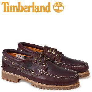 ティンバーランド Timberland デッキシューズ メンズ HERITAGE 3 EYE CLASSIC LUG 50009