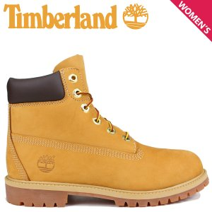 Timberland レディース ブーツ 6インチ ティンバーランド JUNIOR 6INCH PREMIUM WATERPROOF BOOTS 12909 プレミアム ウォータープルーフ 9/5 追加入荷|sugaronlineshop