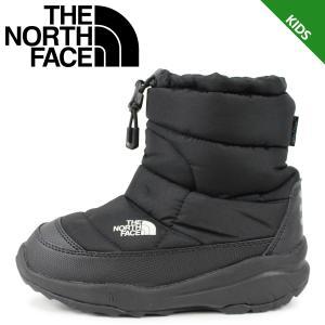 ノースフェイス THE NORTH FACE ヌプシ ブーティー ウォータープルーフ ブーツ キッズ K NUPTSE BOOTIE WP ブラック 黒 NFJ51980 [11/18 新入荷]