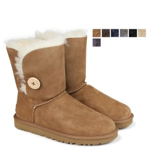 UGG アグ レディース WOMENS BAILEY BUTTON II ムートンブーツ ベイリーボ...
