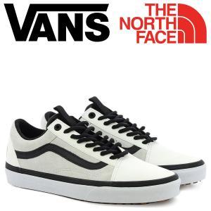 VANS オールドスクール スニーカー メンズ ノースフェイス バンズ ヴァンズ THE NORTH FACE UA OLD SKOOL MTE DX VN0A38G1PHN ホワイト 靴 11/16 新入荷|sugaronlineshop