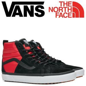 バンズ SK-HI スニーカー メンズ ノースフェイス VANS ヴァンズ スケートハイ THE NORTH FACE 46 MTE DX VN0A3DQ5QWS ブラック 靴 11/16 新入荷|sugaronlineshop