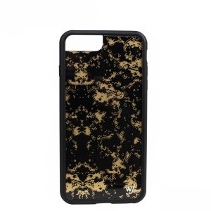 wildflower ケース スマホ iPhone8 X ワイルドフラワー iPhone ケース 7 6s 6 アイフォン レディース ハンドメイド ブラック 7/20 新入荷|sugaronlineshop