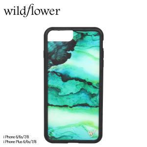 wildflower ワイルドフラワー iPhone 8 7 6 6s Plus レディース グリーン EMER [11/11 新入荷]
