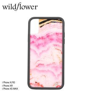 wildflower ワイルドフラワー iPhone XR X XS MAX レディース ピンク PCRY [11/11 新入荷]