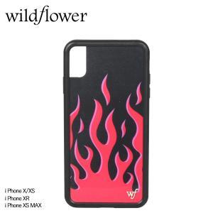 wildflower ワイルドフラワー iPhone XR X XS MAX レディース レッド RFLA [11/11 新入荷]