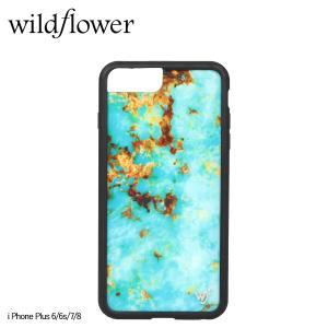 wildflower ワイルドフラワー iPhone 8 7 6 6s Plus レディース ターコイズ TURQ [11/11 新入荷]