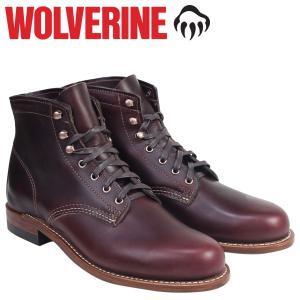 ウルヴァリン WOLVERINE 1000マイル ブーツ 1000MILE ワークブーツ BOOT NO 8 W00137 コードバン メンズ [予約商品 10/31頃入荷予定 追加入荷]