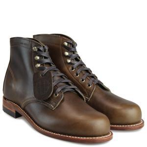 WOLVERINE 1000マイル ブーツ ウルヴァリン ORIGINAL 1000 MILE BOOT メンズ Dワイズ W40387 ワークブーツ ダークオリーブ 11/2 新入荷|sugaronlineshop