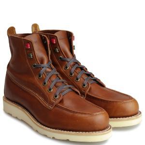 WOLVERINE ブーツ ウルヴァリン メンズ LOUIS WEDGE BOOT Dワイズ W40411 ブラウン ワークブーツ 11/8 追加入荷|sugaronlineshop