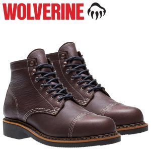 WOLVERINE ブーツ ウルヴァリン メンズ JENSON BOOT WATERPROOF Dワイズ W40419 ワークブーツ ブラウン 11/2 新入荷|sugaronlineshop