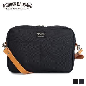 WONDER BAGGAGE ワンダーバゲージ バッグ ショルダーバッグ メンズ GOODMANS SHOULDER M ブラック ネイビー 黒 WB-G-005 [2/4 追加入荷]|sugaronlineshop