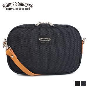 WONDER BAGGAGE ワンダーバゲージ バッグ ショルダーバッグ メンズ GOODMANS SHOULDER M ブラック ネイビー 黒 WB-G-006 [2/4 追加入荷]|sugaronlineshop