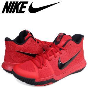 NIKE ナイキ カイリー3 スニーカー KYRIE 3 EP メンズ 852396-600 靴 レッド zzi|sugaronlineshop