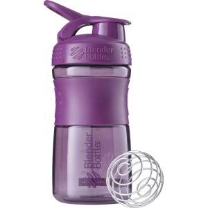 Blender Bottle ブレンダーボトル プロテイン シェイカー ボトル スポーツミキサー 600ml SPORTSMIXER パープル BBSME20 sugaronlineshop