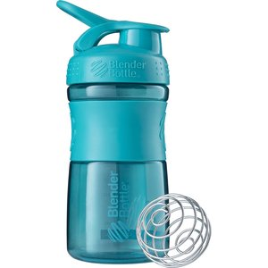 Blender Bottle ブレンダーボトル プロテイン シェイカー ボトル スポーツミキサー 600ml SPORTSMIXER ライトブルー BBSME20 sugaronlineshop