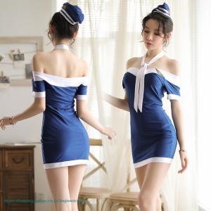 セット内容    帽子+ネクタイ+ドレス+Tバック        カラー    ブルー  ブラック ...