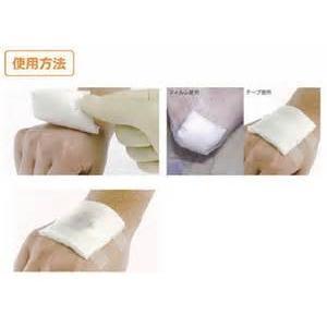 傷にも、やけどにも、メロリン・保護ガーゼ メロリン滅菌10cm×10cm 10枚入り|sugi-no-ya|03