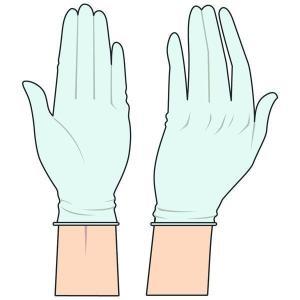 使い捨てプラスチック手袋 ニプロ ノンパウダープラスチック手袋F Sサイズ|sugi-no-ya