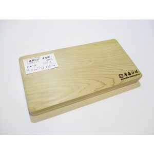 <新品>青森ひば&日光ひのきのリバーシブルまな板です(一枚板同士を貼り合わせています)識別NM-4 今までになかったまな板です!小さめまな板|sugimoku
